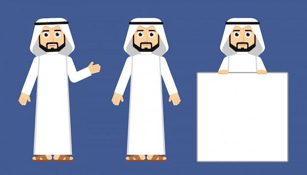 Arabski khaliji człowiek