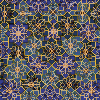 Arabski ornament geometryczny
