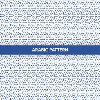 Arabski styl islamski ornament ozdobny wzór