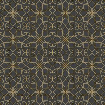 Arabskie ozdoby. wzory, tła i tapety do swojego projektu. ozdoba tekstylna. ilustracja wektorowa.
