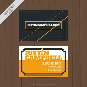 Architekt wizytówka