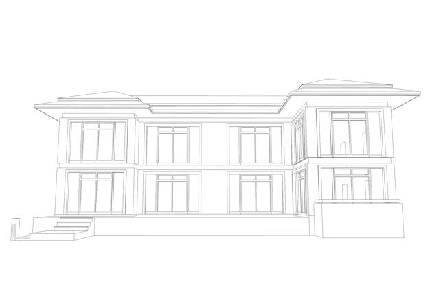 Architektura 3d