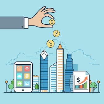 Architektura budynki sprzedaż wynajem nieruchomości handel detaliczny