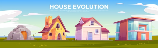 Architektura ewolucji domu