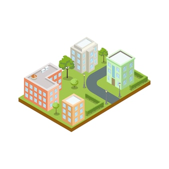 Architektura małego miasteczka