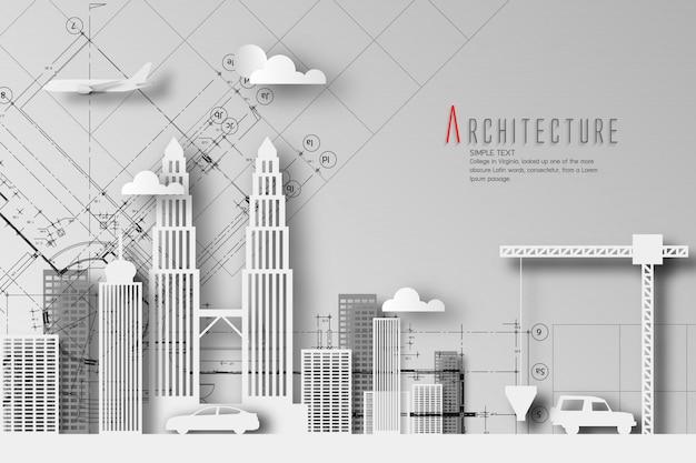 Architektura środowiska I środowiska Naturalnego Premium Wektorów