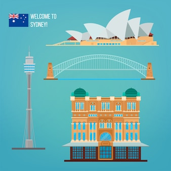 Architektura sydney. turystyka australia