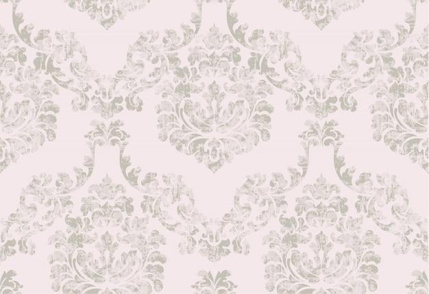 Archiwalne barokowe zdobione tło