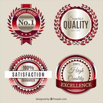 Archiwalne etykiety jakości