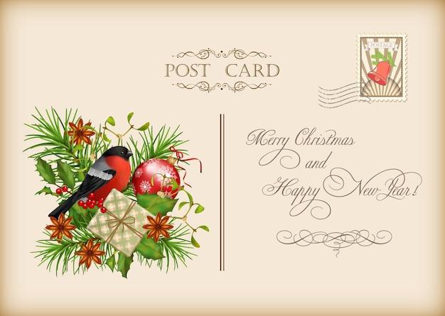 Archiwalne kartki świąteczne