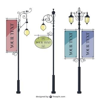Archiwalne miejskich signage