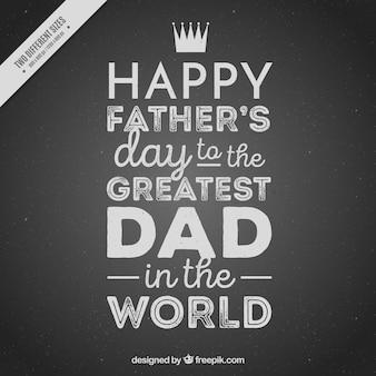 Archiwalne tła z pięknym komunikatem na dzień ojca