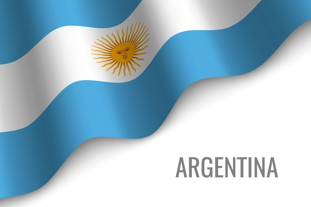 Argentyna macha flagą