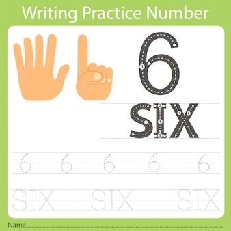 Arkusz ćwiczebny ćwiczenie numer sześć