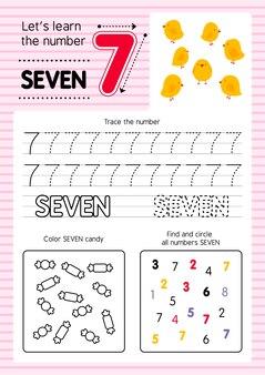 Arkusz edukacyjny numer siedem