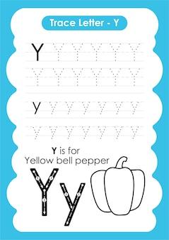 Arkusz kalkulacyjny alfabetu ze słownictwem dotyczącym owoców i warzyw