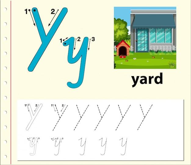 Arkusze alfabetu śledzenia listów