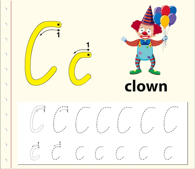 Arkusze alfabetu z alfabetem l