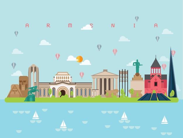 Armenia słynne zabytki