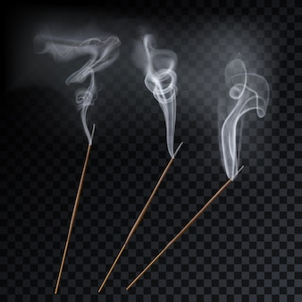 Aromat dymu trzciny laski aromaterapia