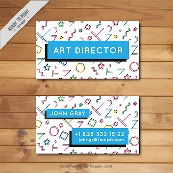 Art business director karty