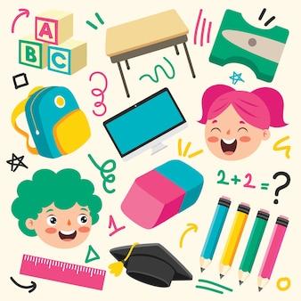 Artykuły szkolne do edukacji dzieci