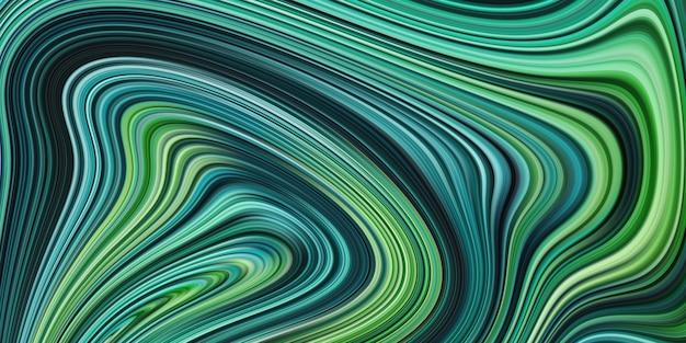 Artystyczne tło efekt linii fali