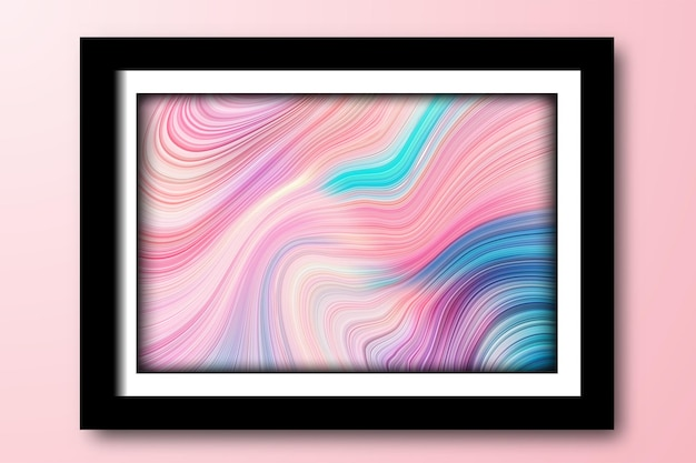 Artystyczny wirowa abstrakcyjne linie tła