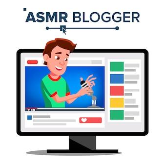 Asmr blogger channel