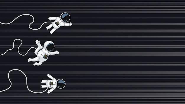 Astronauci ścigają się z prędkością światła