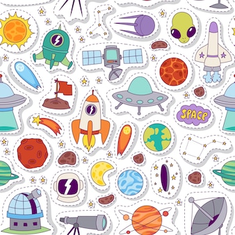 Astronomia przestrzeń wzór.