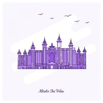 Atlantis the palm landmark