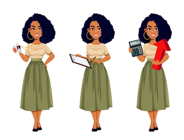 Atrakcyjna biznesowa kobieta