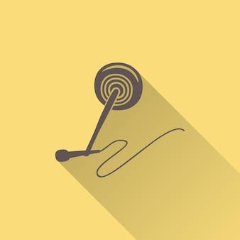 Audio mikrofon ikona ilustracja, wzór muzyki. kreatywna i luksusowa okładka