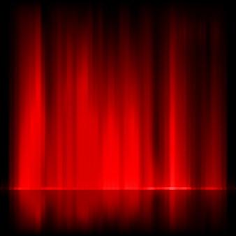 Aurora borealis. kolorowy streszczenie.