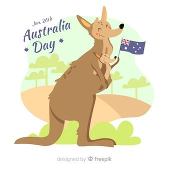 Australia dzień tło
