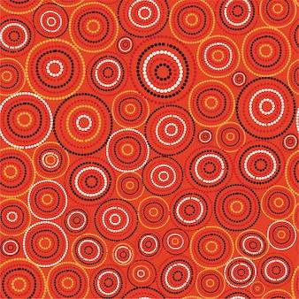 Australijski wzór sztuki aborygenów