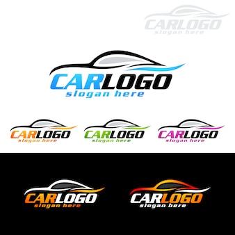 Auto car logo dla samochodów sportowych
