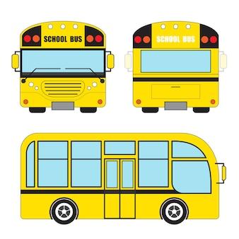 Autobus szkolny ilustracji wektorowych