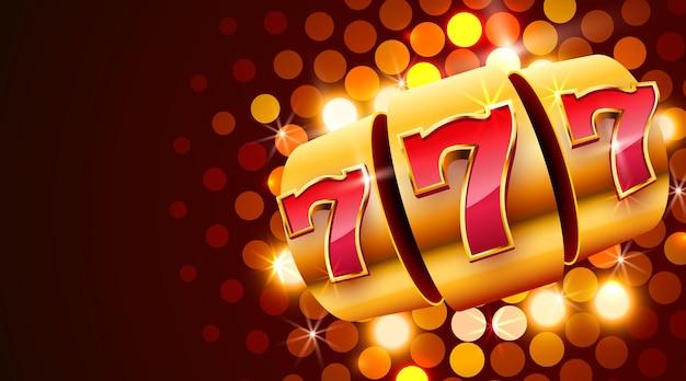 Automat do gry wygrywa jackpot. 777 kasyno z dużą wygraną