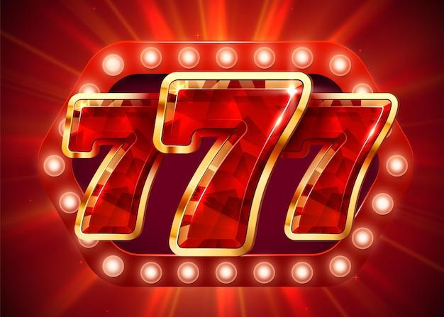 Automat do gry wygrywa jackpot duża wygrana koncepcja jackpota w kasynie