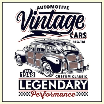 Automotive vintage cars