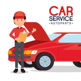 Autoparts usług samochodowych