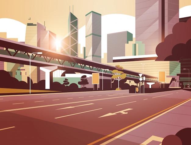 Autostrada droga do miasta