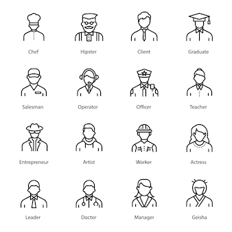 Avatar linii ludzi