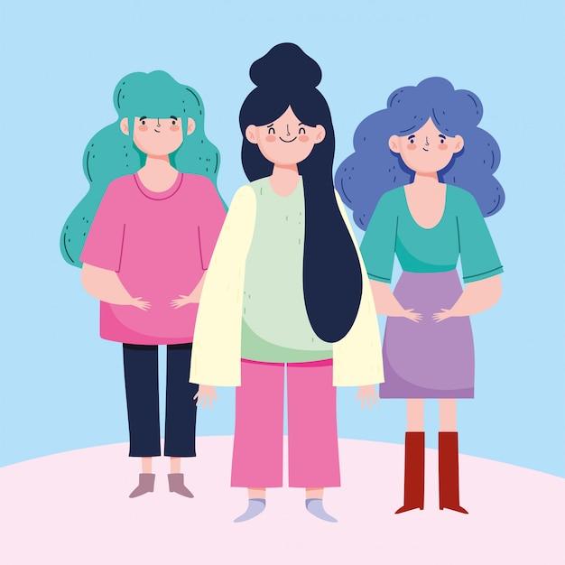 Avatary dla kobiet z niebieskim i czarnym seledynowym wzorem