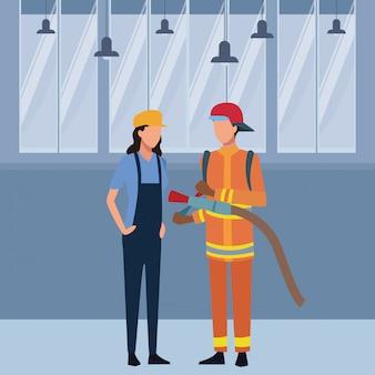 Awatar miejsc pracy i zawodów