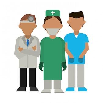 Awatar pracy zespołowej w medycynie