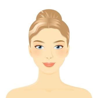 Awatar twarzy młodej kobiety