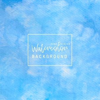 Azul akwarelowy tle